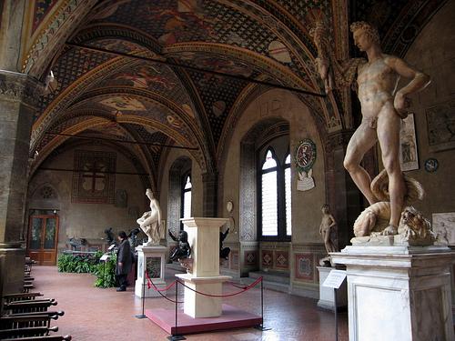 El Museo Nacional de Bargello en Florencia