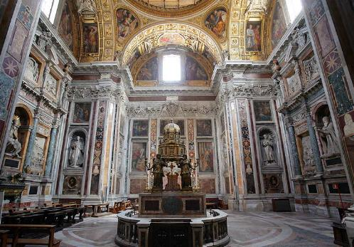 La Capilla Sixtina de Santa Maria Maggiore