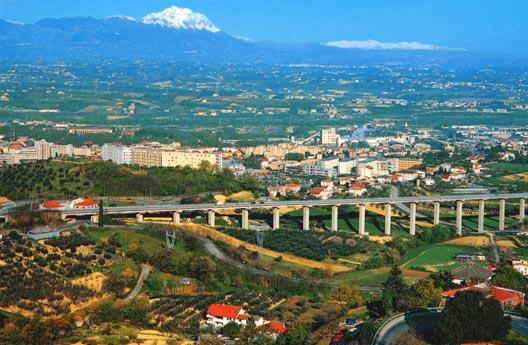 Chieti, una ciudad en el valle