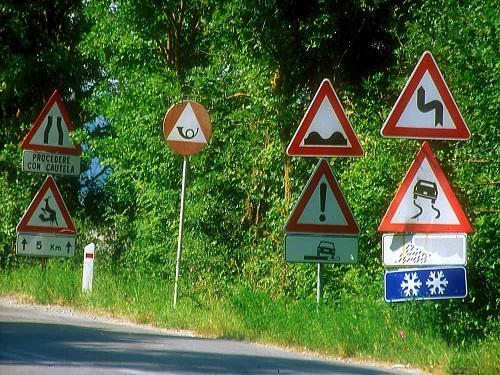 Documentación necesaria para conducir en Italia