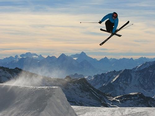 esquiar en el valee de aosta, alpes italianos