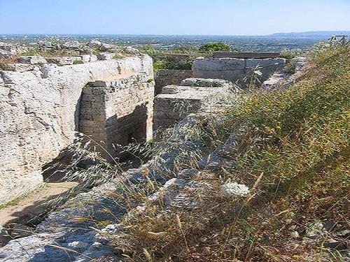 Eurialo, fortaleza de Siracusa en las Epipolas