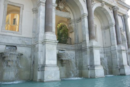 La Fontana dell'Acqua Paola, en Roma