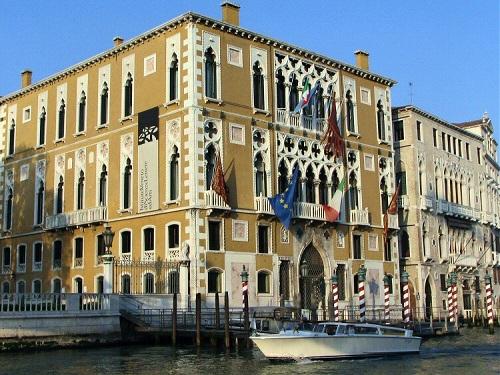 Galería Franchetti, casa dorada en Venecia
