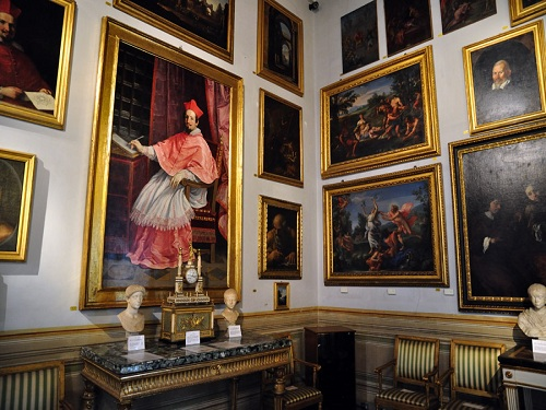 Galería Spada, en la Plaza Capo di Ferro de Roma