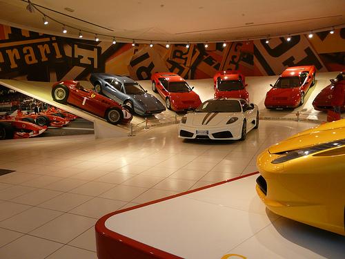 La Galleria Ferrari para los amantes del motor
