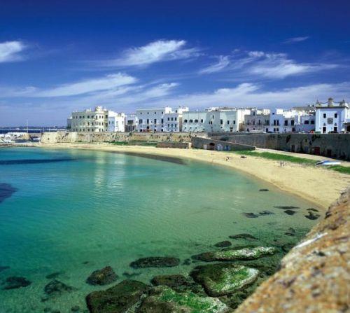 Gallipoli, hermosa ciudad costera de Apulia