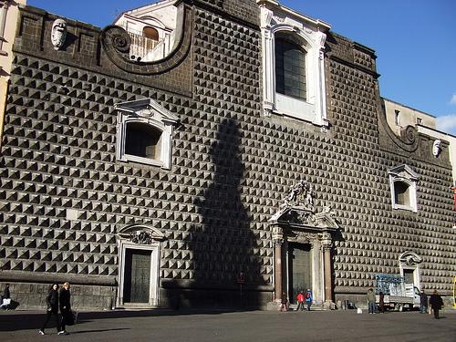 Iglesia de Gesú Nuovo, antiguo palacio de Nápoles