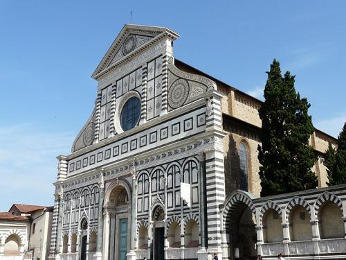 La Iglesia Santa María Novella en Florencia