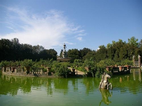El Jardín de Bóboli en Florencia