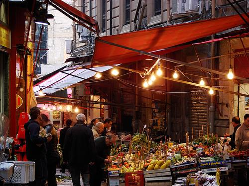 La Vucciria, el mercado mas famoso de Palermo