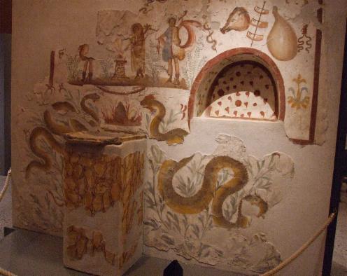 Lararium de Pompeya