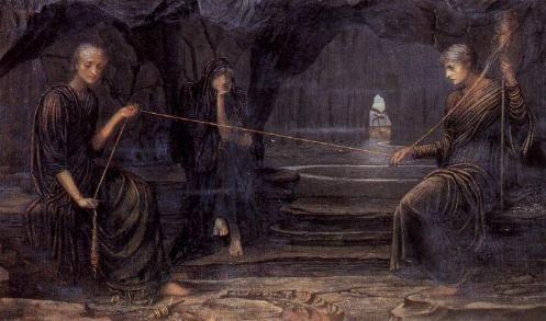 El mito de las tres Parcas