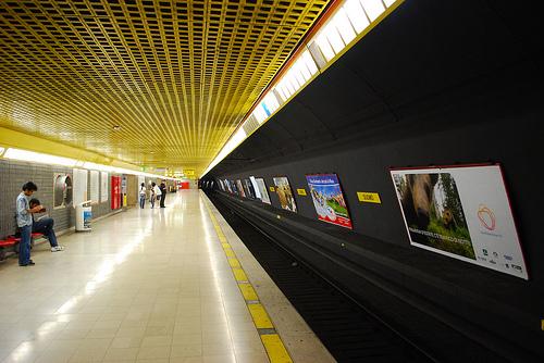 Pasillos Metro Milan