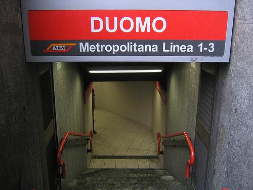 El moderno Metro de Milán