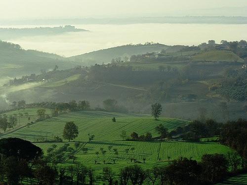 Barrios en Perugia, Umbria