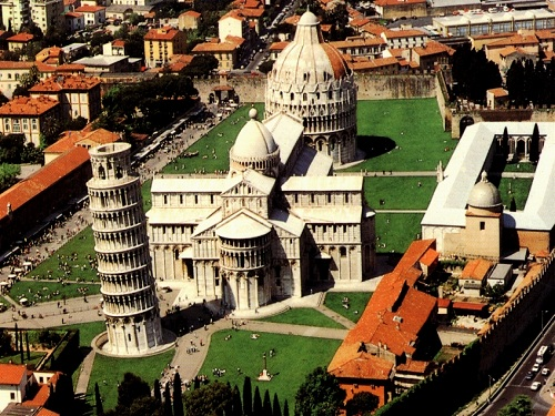 Piazza dei Miracoli, en la ciudad de Pisa