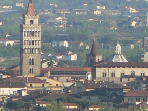 Paseando por Pistoia en Toscana