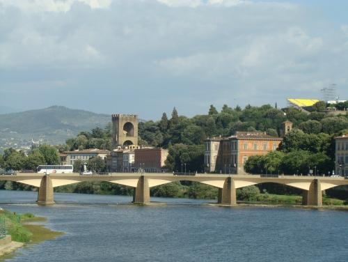El Ponte alle Grazie, arte en Florencia