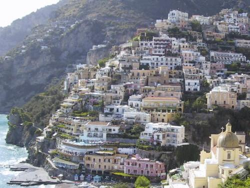 Positano en Campania