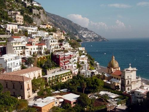 Ruta desde Positano hacia Amalfi