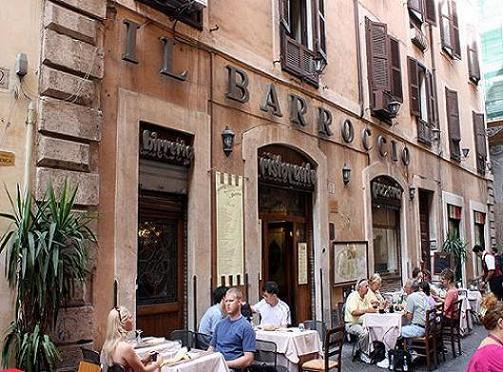 Restaurante Il Barroccio