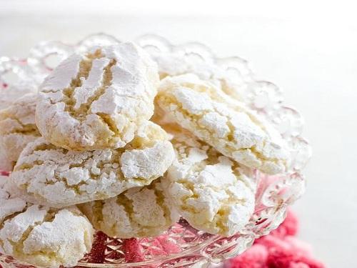 Ricciarelli, galletas de almendras de Siena