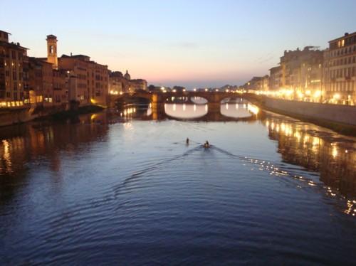 El Río Arno, un río puramente italiano