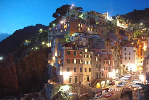 Riomaggiore, el pueblo oriental de Cinque Terre