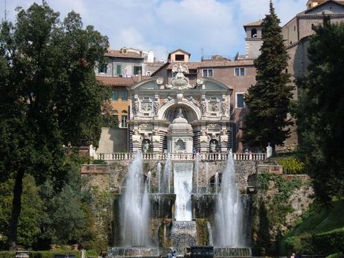 Villa de Este, Patrimonio de la Humanidad en Tivoli