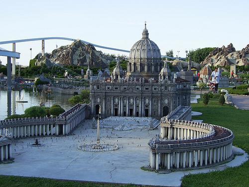 Italia en miniatura, todo en un mismo lugar