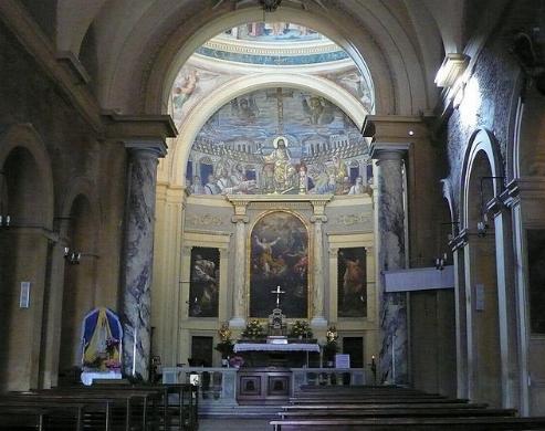 Basílica de Santa Pudenciana en Roma