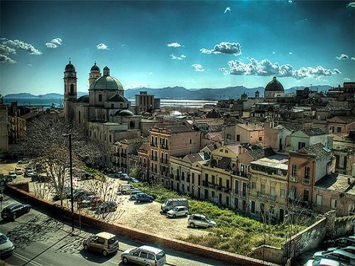 Barrios en Cagliari, Cerdeña