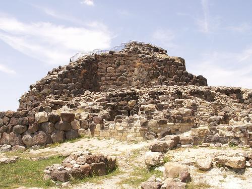 Su Nuraxi, yacimiento en Cerdeña