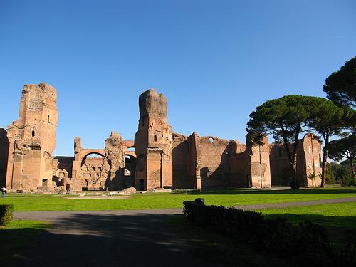 Resultado de imagen para las termas romanas de caracalla