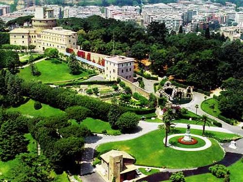 Jardines Vaticanos, el lugar más visitado del Estado