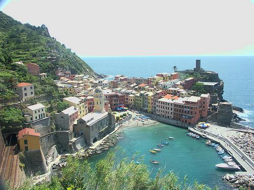 Vernazza, uno de los pueblos de Cinque Terre