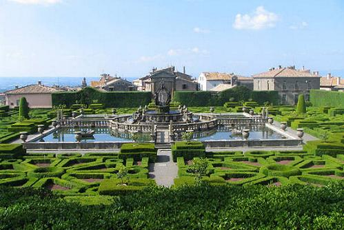 La Villa Lante en Bagnaia