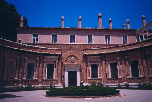 La Villa Madama, en Roma
