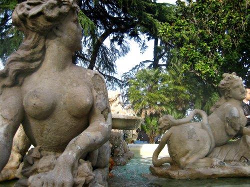Villa Sciarra, un pequeño parque de Roma