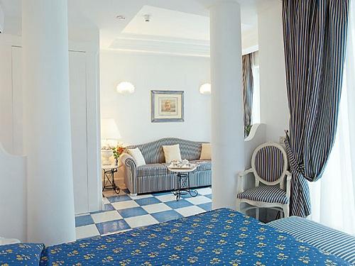 Dos hoteles lujosos en la Isla de Capri